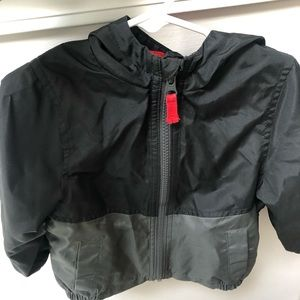Gently worn black carters jacket size 18 months